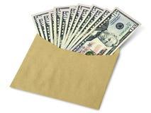 Molte di cinquanta banconote del dollaro Fotografie Stock Libere da Diritti