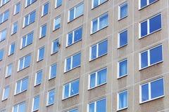 Molte finestre Fotografie Stock Libere da Diritti