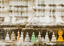 Molte immagini di Buddha Fotografie Stock