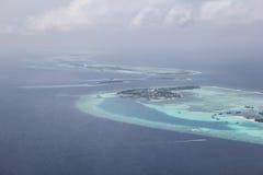 Molte isole nell'oceano sono belle Fotografia Stock Libera da Diritti