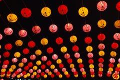 Molte lanterne Immagini Stock