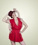 Molte mani che abbracciano una ragazza Fotografie Stock