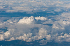 Molte nuvole Fotografia Stock