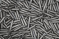 Molte pallottole nella scatola Fotografie Stock Libere da Diritti