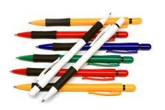 Molte penne della pinta della sfera Immagine Stock