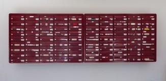 Molte scatole di lettera immagine stock libera da diritti