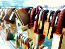 Molte serrature Immagini Stock Libere da Diritti