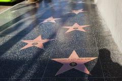 Molte stelle gradiscono Donald Sutherland Fotografia Stock Libera da Diritti