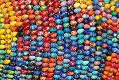 Molte uova di Pasqua Fotografia Stock Libera da Diritti