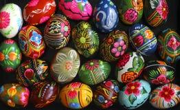 Molte uova di Pasqua Immagini Stock Libere da Diritti