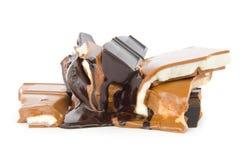 Molten chocolate Royalty Free Stock Photos