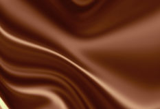 Molten chocolate background Stock Image