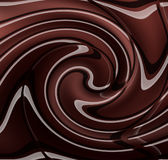 Molten Chocolate bar Royalty Free Stock Photos