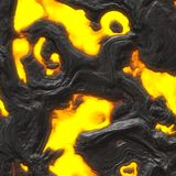 Molten Lava or Magma Stock Images