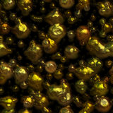 Molten liquid metal seamless texture Royalty Free Stock Photography