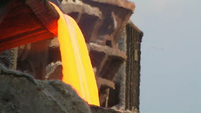 Molten Steel stock video