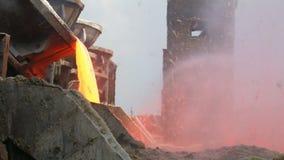 Molten Steel stock footage