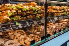 Molti alimenti svizzeri tipici Fotografie Stock