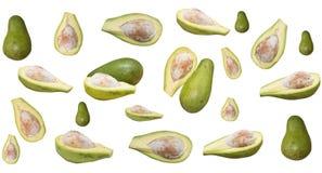 Molti avocado Fotografie Stock
