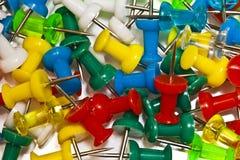 Bottoni della cancelleria Fotografie Stock Libere da Diritti