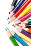 Molti colorano le matite Immagine Stock