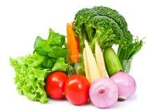 Molti colori delle verdure Immagini Stock Libere da Diritti
