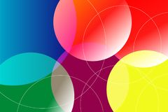 Molti colori Tone Abstract Background e struttura Illustrazione di Stock