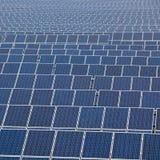Molti comitati solari Fotografia Stock Libera da Diritti