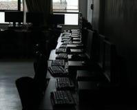 Molti computer fotografia stock libera da diritti