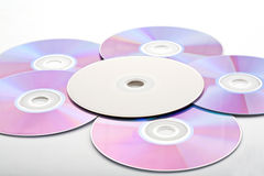 Molti dischi Immagine Stock Libera da Diritti
