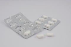 Molti drogano le pillole Fotografie Stock Libere da Diritti
