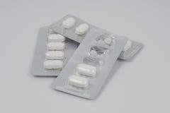 Molti drogano le pillole Immagini Stock Libere da Diritti