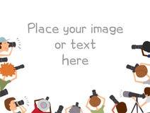 Molti fotografi che prendono le immagini Fotografia Stock Libera da Diritti