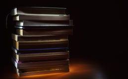 Molti libri Fotografia Stock Libera da Diritti