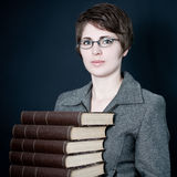 Molti libri Immagine Stock Libera da Diritti