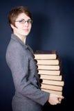 Molti libri Fotografie Stock Libere da Diritti