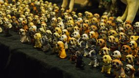 Molti modelli ceramici del cane Fotografia Stock Libera da Diritti