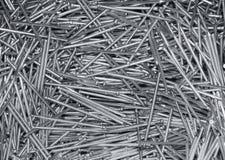Molti nuovi chiodi d'acciaio Immagine Stock Libera da Diritti