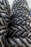 Molti pneumatici in azione Fotografia Stock
