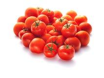 Molti pomodori freschi Fotografia Stock