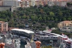 Molti spettatori guardano il Gran Premio 2016 di F1 Monaco Immagini Stock Libere da Diritti