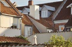 Molti tetti Fotografia Stock