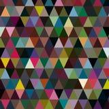 Molti triangoli multicolori per il vostro fondo Fotografia Stock
