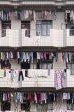 Dormitorio cinese, appartamento Fotografia Stock Libera da Diritti