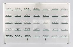 Molti vetri immagini stock