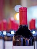 Molti vini con il fondo della sfuocatura Immagine Stock Libera da Diritti