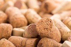 Molti wine sugheri Fotografie Stock