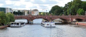 Moltke-Brücke in Berlin Lizenzfreies Stockfoto