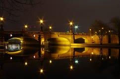 Moltke bridge in berlin Royalty Free Stock Photo