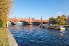 Moltkebrücke bridge Royalty Free Stock Images